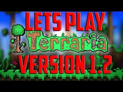 Lets Play Terraria Xbox: 1.2 Update | Part 1 Exploring! (Console Edition Lets Play)