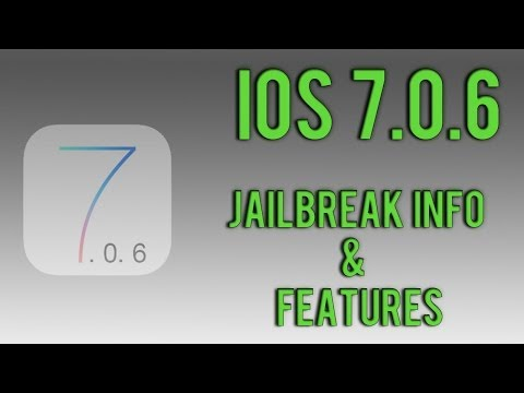 iOS 7.0.6 - Jailbreak Info. Firmware Info & Features/Fixes!