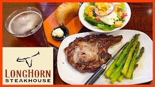 Outlaw Ribeye 18oz Steak - Longhorn Steakhouse - Orlando, Florida