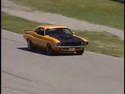 XV 70 Challenger on Road Race Course Video
