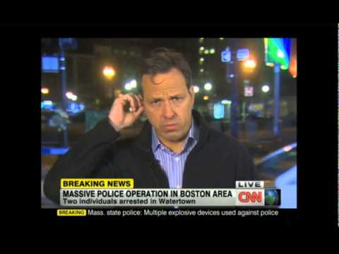 CNN Video Of Suspect #1 Being Detained