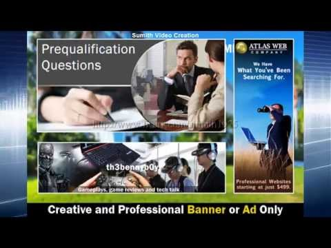 Professional and Eye Caching Animated or Static Web Banners,Header,Ad for $5