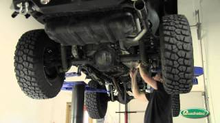 Quadratec: Gibson Performance Cat-Back Exhaust System for Jeep Wrangler TJ