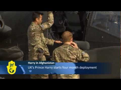 Prince Harry Sent to Afghanistan after Nude Photos Leak: 'Harry Wales' a Helicopter Gunner