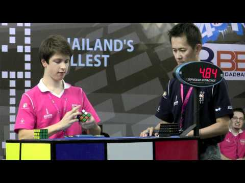 Feliks Zemdegs World Rubiks Championship 2011 Final