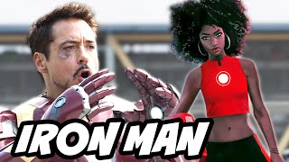 Iron Man Passes The Mantle to a 15 Year Old Girl - Marvel Civil War