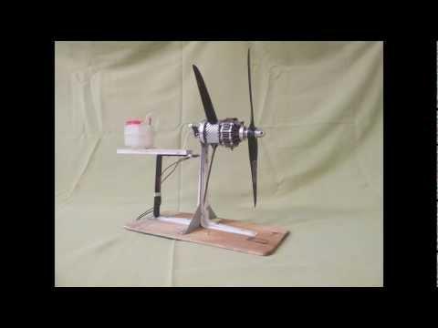 OS Wankel DuoProp Wankel Rotary Engine (Umlaufmotor) Koaxial RC Modellmotor umgebaut