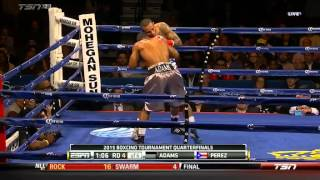 Brandon Adams vs Alex Perez 13 02 2015