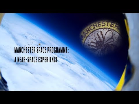 MCR Space Programme Baloon Launch June 2015