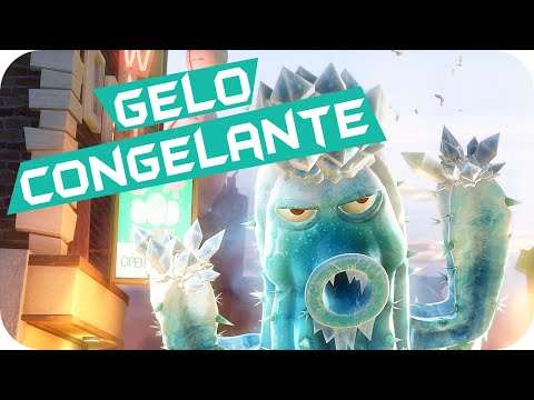 Gelo Congelante Plants vs Zombies Garden Warfare PVZ
