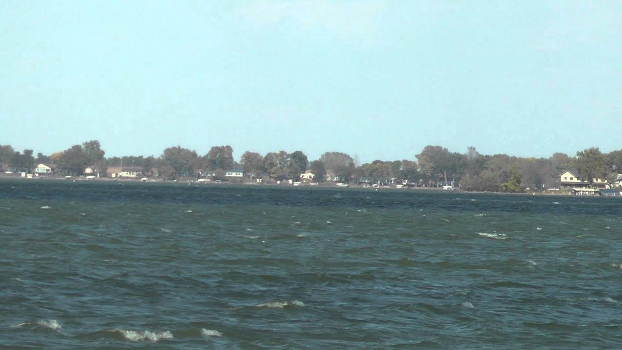 Big spirit lake iowa bass fishing video for largemouth and for Iowa fishing lakes
