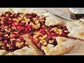 Cranberry Galette Recipe Demonstration - Joyofbaki…