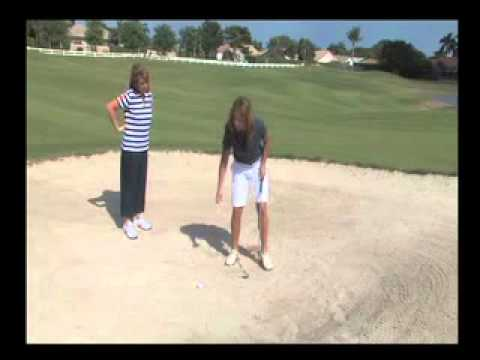 How to hit out of a bunker