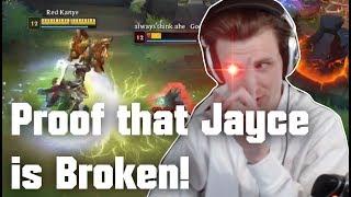 Hashinshin demonstrates why Jayce is broken!