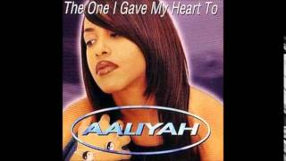 download lagu Aaliyah - The One I Gave My Heart To gratis