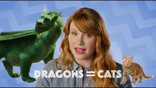 """Bryce Dallas How-To"" with Bryce Dallas Howard - Dragon Cat Costume!"