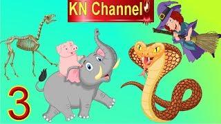 Hoạt hình KN Channel BÉ NA PHÁT HIỆN BÀ PHÙ THỦY GIẢ LÀM TIÊN BƯỚM BẮT CÓC EM BÉ tập 3