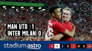 Manchester Utd 1 - 0 Inter Milan | ICC 2019 Highlights | Astro SuperSport