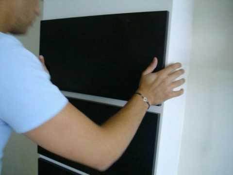 Modern Wall Paneling Installation Youtube
