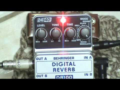DR100 BEHRINGER - DIGITAL REVERB PEDAL