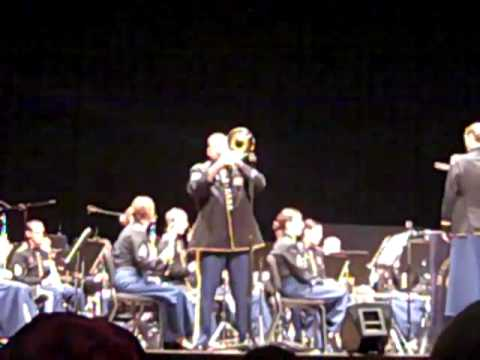 US Army Field Band – Colors, a solo by Carmen Russo
