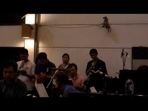 KJ 187 Kudengar Suara Yesus (Rehearsal) Keroncong Version