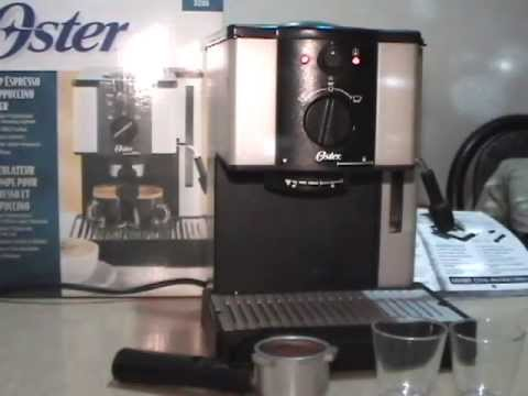 Cafetera express oster 3295 youtube - Cafetera express amazon ...