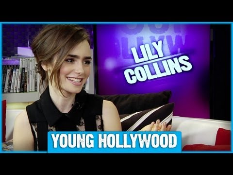 Lily Collins: Action Film's Audrey Hepburn?