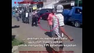 Video kebenaran FPI vs PREMAN KENDAL bkn dgn warga