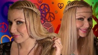 PEINADO Hippie con trenzas para verano Summer hairstyleS for long hair:
