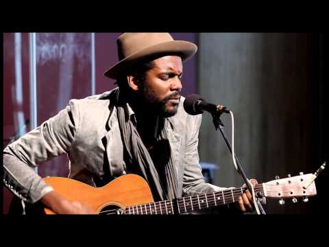 "Gary Clark Jr visits KUTX Studio 1A for a chat with Jay Trachtenberg and an acoustic medley of hit songs ""Blak and Blu"" and ""Bright Lights"""