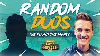 Random Duos - We Found The Money! - Fortnite Battle Royale Gameplay - Ninja