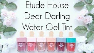 Review: Etude House Dear Darling Water Gel Tint