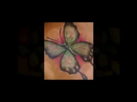 BUTTERFLY TATTOOS - Butterfly Tattoo Designs - Cool & Sexy Butterfly Tattoos