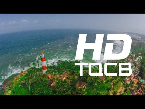 Kovalam  Beach (Close Range Aerial Cinematography)