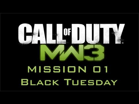 Call of Duty: Modern Warfare 3 - Mission 01 - Black Tuesday