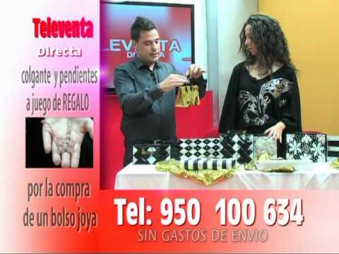 TELEVENTA DIRECTA DE CADENA INDAL--BOLSOS EXCLUSIVOS--