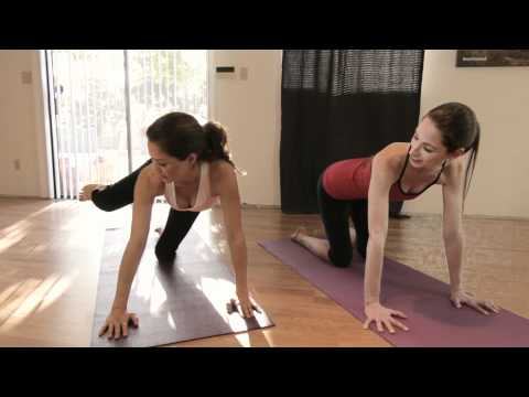Brooke Burke's Butt Workout With Tara Stiles