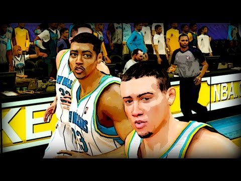 How to get 2013 Rookies in NBA 2k12 My Player and Create a Legend ft Anthony Davis & Austin Rivers