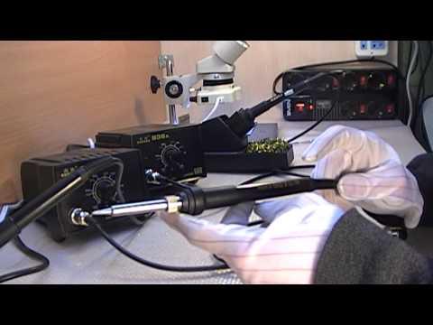 Обзор паяльной станции и