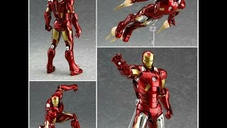 NGOBAR : Review Figma Ironman Mark 7 Bootleg / Kw