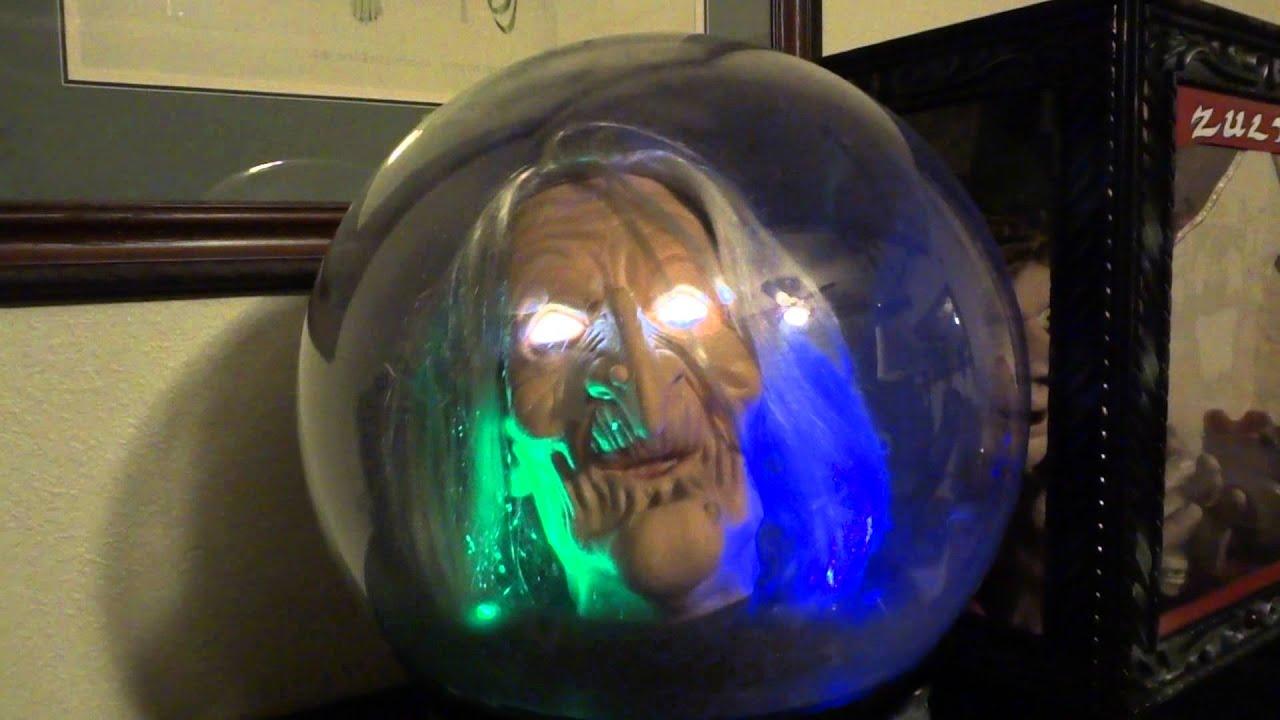 Crystal Ball Halloween Prop Youtube