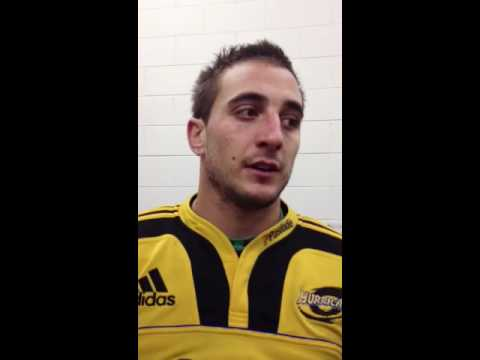 Hurricanes fullback Andre Taylor post match interview | Super Rugby Highlights - Hurricanes fullback