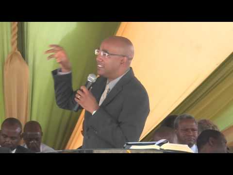 PR.  CORALIE'S SERMON AT THE WEST KENYA UNION CONFERENCE OFFICE GROUNDS