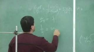 Simple Harmonic Motion Theory Part 1