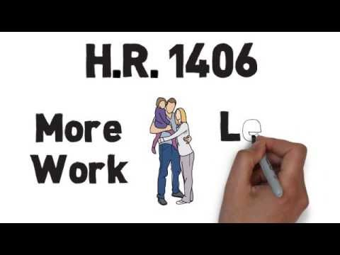H.R. 1406: More Work, Less Pay