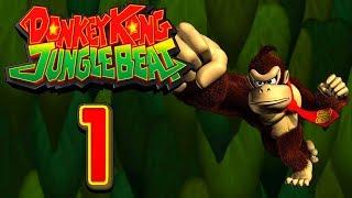 Let's Play Donkey Kong Jungle Beat (Part 1): Bananen-Reich!