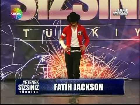Fatih Jackson - Michael Jackson Dance - Part 1 (Turkey Got Talent)