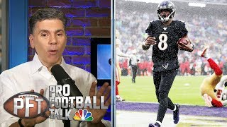 Are defenses targeting Lamar Jackson's legs? | Pro Football Talk | NBC Sports