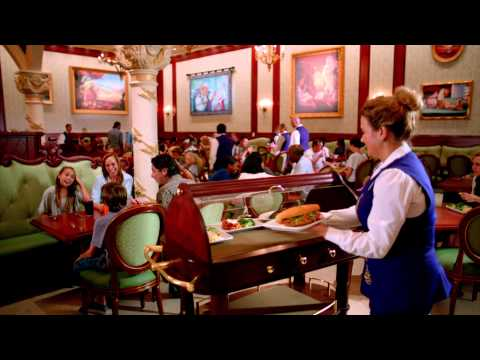 Step Inside Be Our Guest Restaurant video